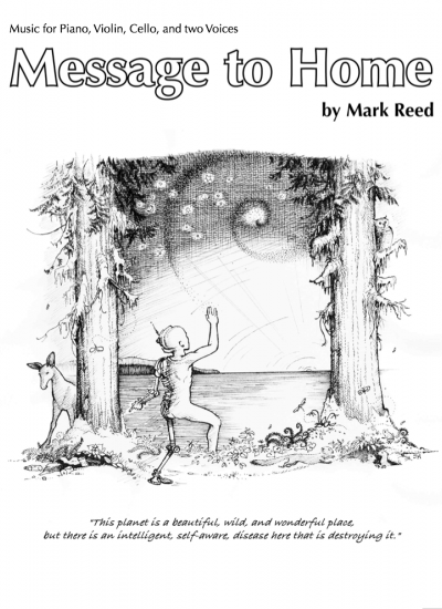Message To Home 5-part score cover