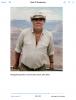 Namgyal Rinpoche at the Grand Canyon, USA